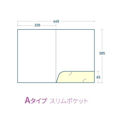 Aタイプ/マットコート220kg(PP加工・ツヤ無)