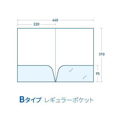 Bタイプ/マットコート258kg(PP加工・ツヤ無)