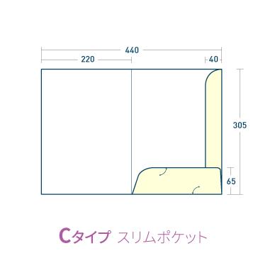 Cタイプ/マットコート258kg(PP加工・ツヤ有)